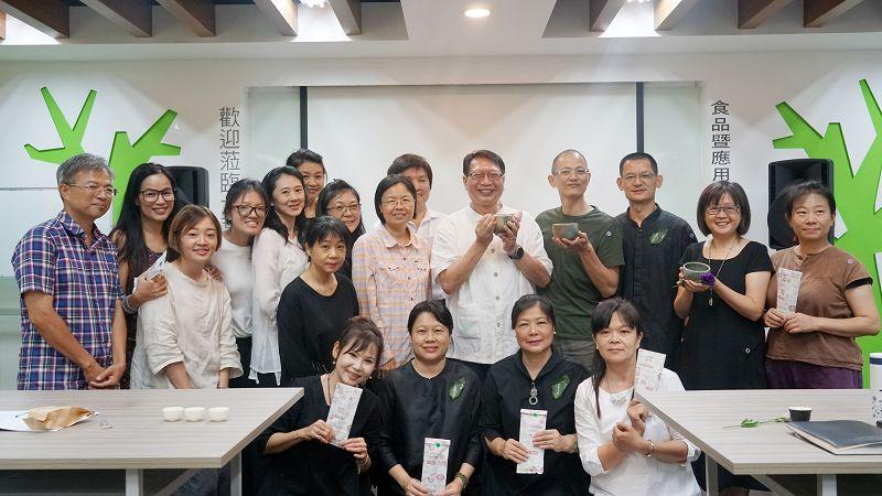 大葉大學茶藝交流會 分享茶博經驗