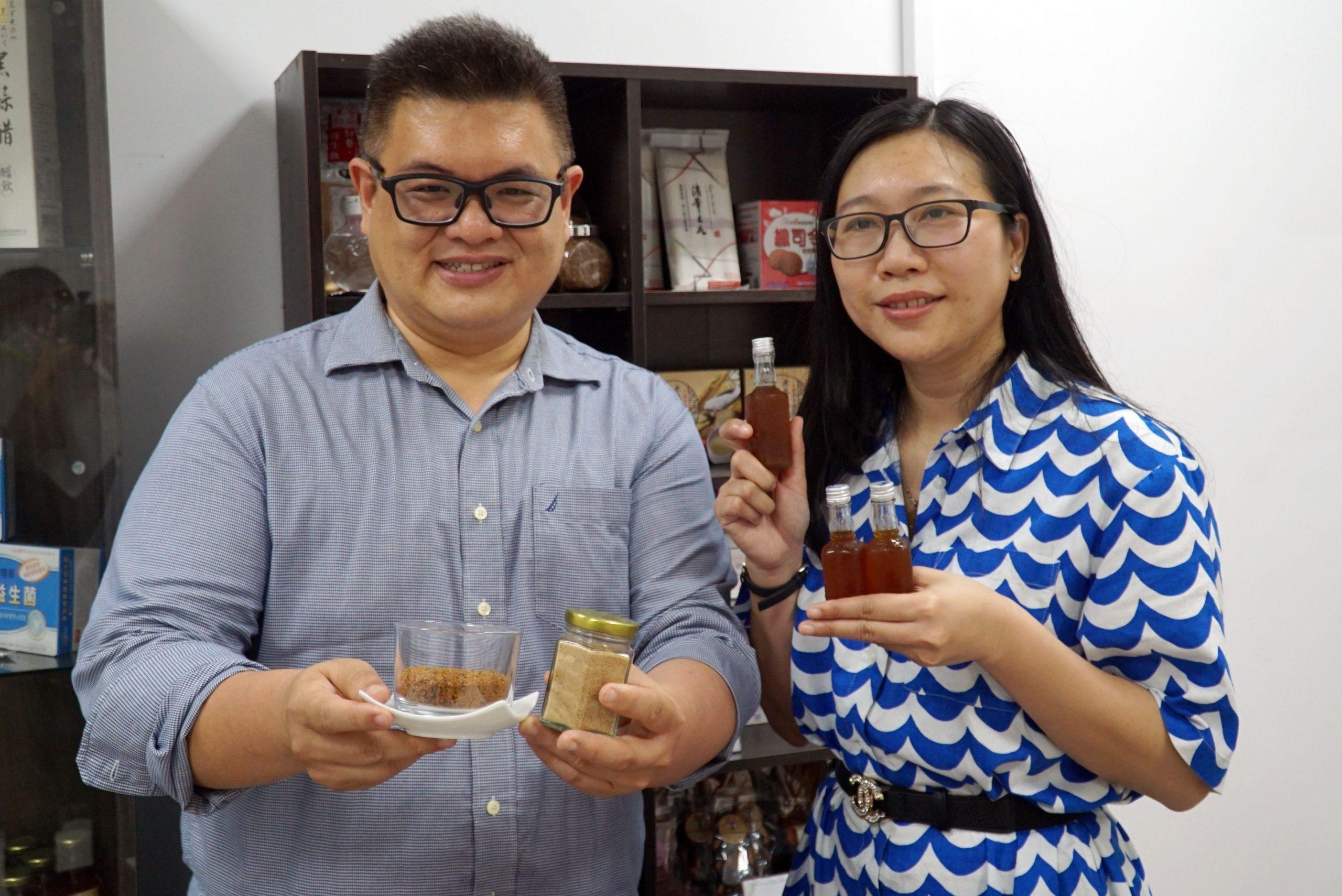 大葉指導越南生 善用當地植物開發食品創商機